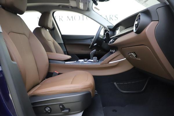 New 2020 Alfa Romeo Stelvio Sport Q4 for sale $50,895 at Maserati of Greenwich in Greenwich CT 06830 23