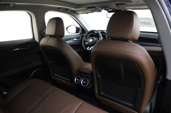 New 2020 Alfa Romeo Stelvio Sport Q4 for sale Sold at Maserati of Greenwich in Greenwich CT 06830 28