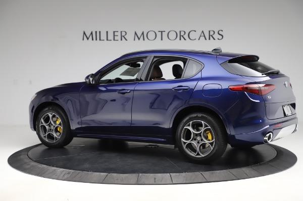 New 2020 Alfa Romeo Stelvio Sport Q4 for sale $50,895 at Maserati of Greenwich in Greenwich CT 06830 4