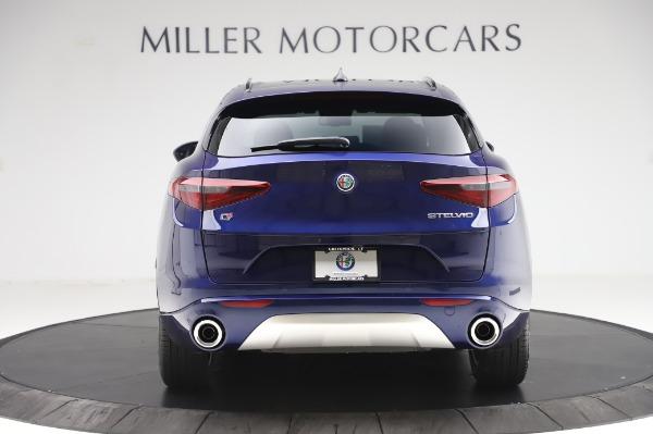 New 2020 Alfa Romeo Stelvio Sport Q4 for sale $50,895 at Maserati of Greenwich in Greenwich CT 06830 6