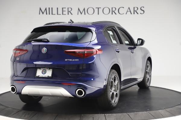 New 2020 Alfa Romeo Stelvio Sport Q4 for sale $50,895 at Maserati of Greenwich in Greenwich CT 06830 7