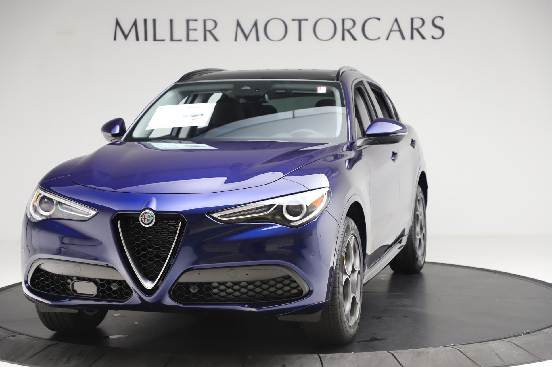 New 2020 Alfa Romeo Stelvio Sport Q4 for sale $50,895 at Maserati of Greenwich in Greenwich CT 06830 1