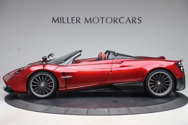 Used 2017 Pagani Huayra Roadster for sale Call for price at Maserati of Greenwich in Greenwich CT 06830 3