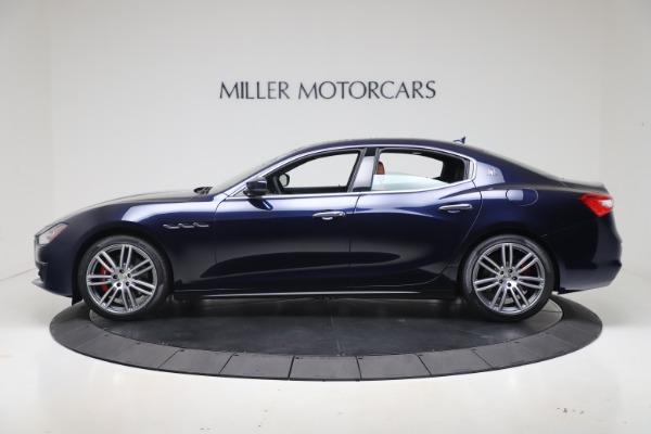 New 2020 Maserati Ghibli S Q4 for sale Sold at Maserati of Greenwich in Greenwich CT 06830 3
