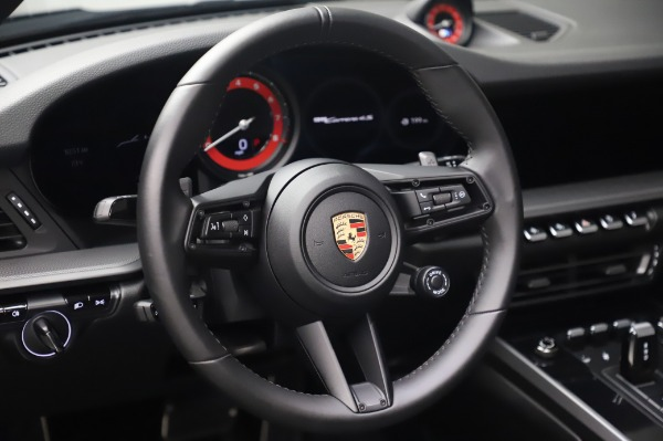 Used 2020 Porsche 911 Carrera 4S for sale Sold at Maserati of Greenwich in Greenwich CT 06830 20