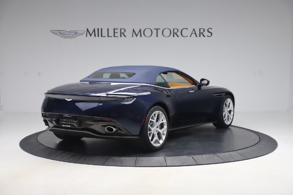 Used 2019 Aston Martin DB11 Volante Convertible for sale Sold at Maserati of Greenwich in Greenwich CT 06830 23