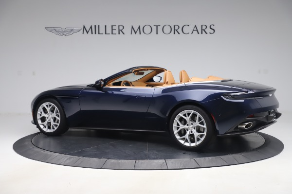 Used 2019 Aston Martin DB11 Volante Convertible for sale Sold at Maserati of Greenwich in Greenwich CT 06830 3
