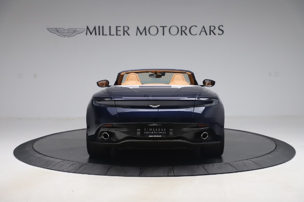 Used 2019 Aston Martin DB11 Volante Convertible for sale Sold at Maserati of Greenwich in Greenwich CT 06830 5