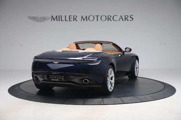 Used 2019 Aston Martin DB11 Volante Convertible for sale Sold at Maserati of Greenwich in Greenwich CT 06830 6