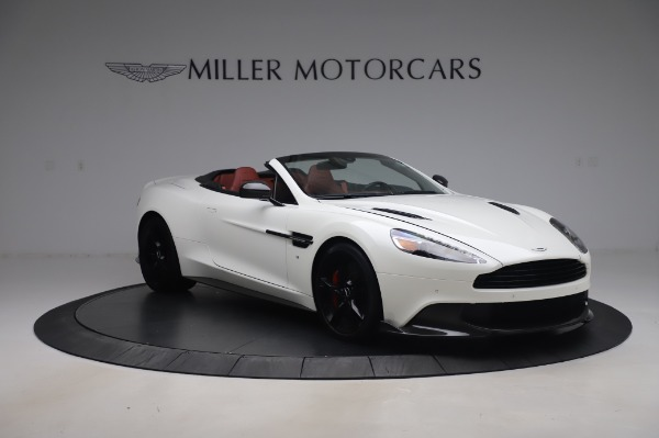 Used 2018 Aston Martin Vanquish S Volante for sale $179,900 at Maserati of Greenwich in Greenwich CT 06830 10