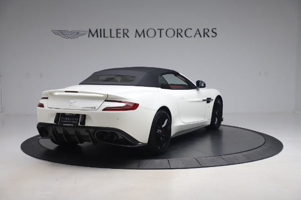 Used 2018 Aston Martin Vanquish S Volante for sale $179,900 at Maserati of Greenwich in Greenwich CT 06830 24