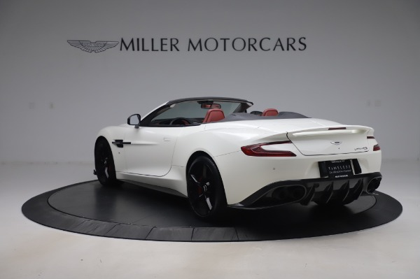 Used 2018 Aston Martin Vanquish S Volante for sale $179,900 at Maserati of Greenwich in Greenwich CT 06830 4