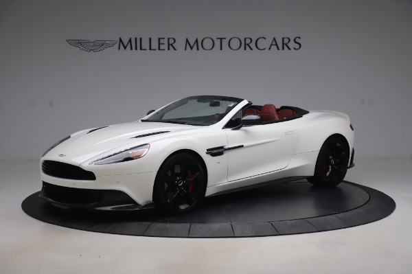 Used 2018 Aston Martin Vanquish S Volante for sale $179,900 at Maserati of Greenwich in Greenwich CT 06830 1