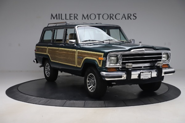 Used 1991 Jeep Grand Wagoneer for sale $89,900 at Maserati of Greenwich in Greenwich CT 06830 11