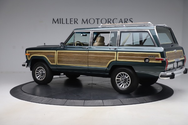 Used 1991 Jeep Grand Wagoneer for sale $89,900 at Maserati of Greenwich in Greenwich CT 06830 4