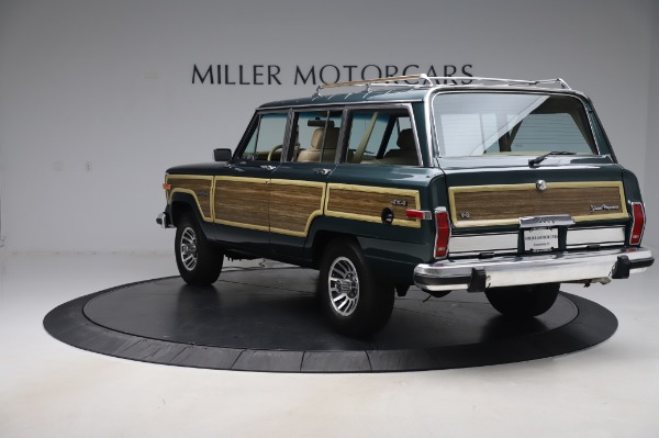 Used 1991 Jeep Grand Wagoneer for sale $89,900 at Maserati of Greenwich in Greenwich CT 06830 5