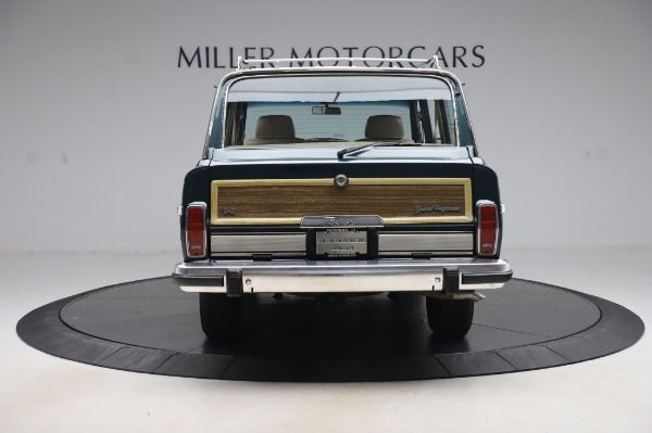 Used 1991 Jeep Grand Wagoneer for sale $89,900 at Maserati of Greenwich in Greenwich CT 06830 6