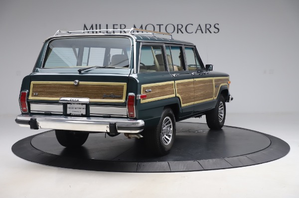 Used 1991 Jeep Grand Wagoneer for sale $89,900 at Maserati of Greenwich in Greenwich CT 06830 7