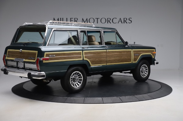 Used 1991 Jeep Grand Wagoneer for sale $89,900 at Maserati of Greenwich in Greenwich CT 06830 8