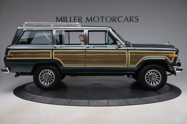 Used 1991 Jeep Grand Wagoneer for sale $89,900 at Maserati of Greenwich in Greenwich CT 06830 9
