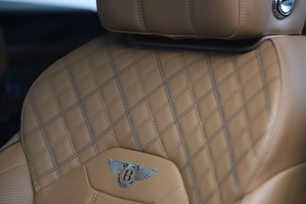 New 2021 Bentley Bentayga V8 First Edition for sale Sold at Maserati of Greenwich in Greenwich CT 06830 22
