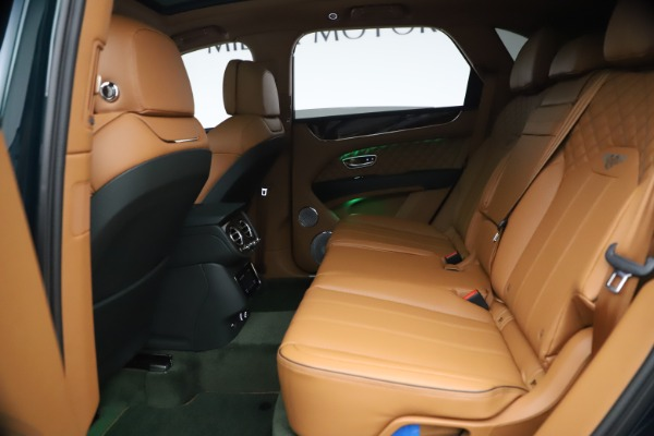 New 2021 Bentley Bentayga V8 First Edition for sale Sold at Maserati of Greenwich in Greenwich CT 06830 24