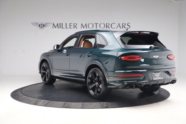 New 2021 Bentley Bentayga V8 First Edition for sale Sold at Maserati of Greenwich in Greenwich CT 06830 5