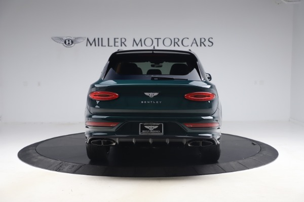 New 2021 Bentley Bentayga V8 First Edition for sale Sold at Maserati of Greenwich in Greenwich CT 06830 6