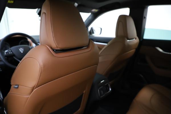 New 2020 Maserati Levante Q4 GranSport for sale $84,285 at Maserati of Greenwich in Greenwich CT 06830 20