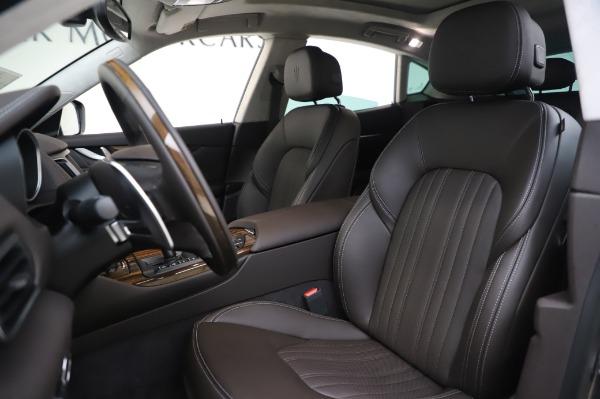 New 2020 Maserati Levante S Q4 GranLusso for sale $100,485 at Maserati of Greenwich in Greenwich CT 06830 17