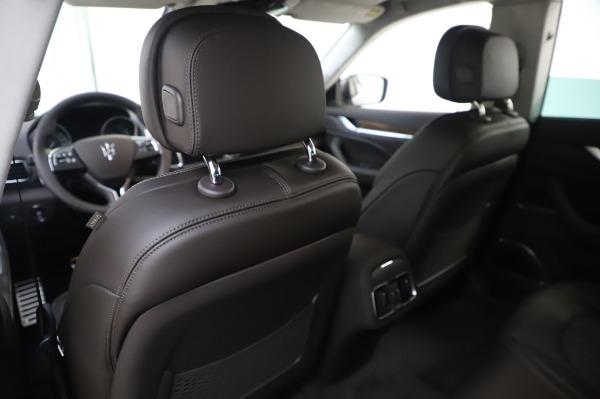 New 2020 Maserati Levante S Q4 GranLusso for sale $100,485 at Maserati of Greenwich in Greenwich CT 06830 23