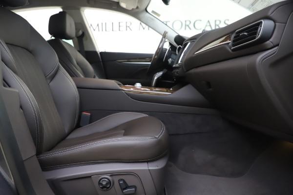 New 2020 Maserati Levante S Q4 GranLusso for sale $100,485 at Maserati of Greenwich in Greenwich CT 06830 26