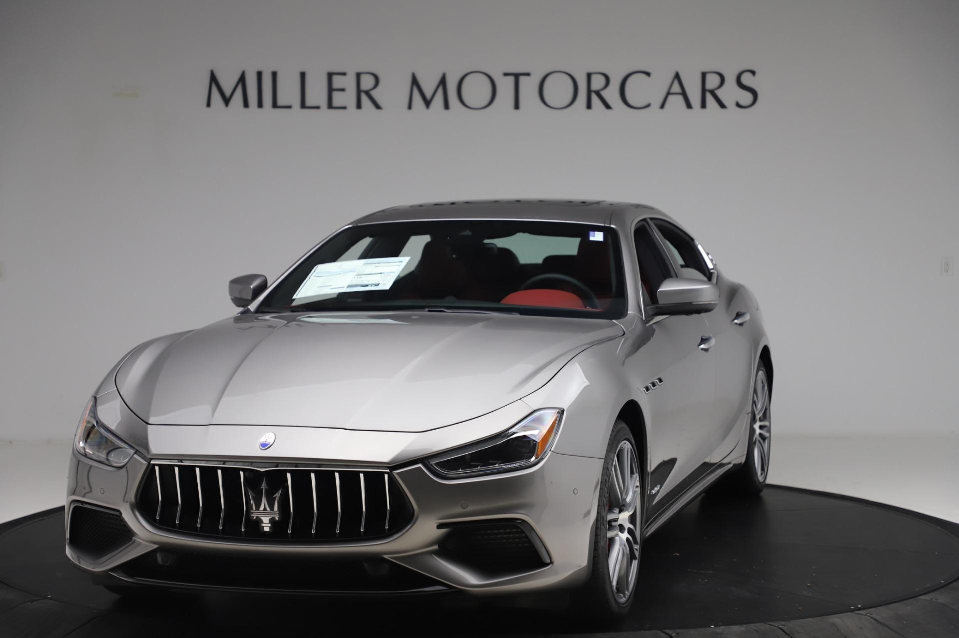 New 2020 Maserati Ghibli S Q4 GranSport for sale $93,285 at Maserati of Greenwich in Greenwich CT 06830 1