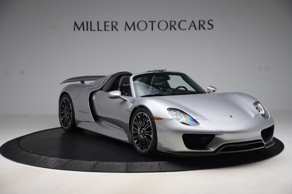 Used 2015 Porsche 918 Spyder for sale $1,389,900 at Maserati of Greenwich in Greenwich CT 06830 10