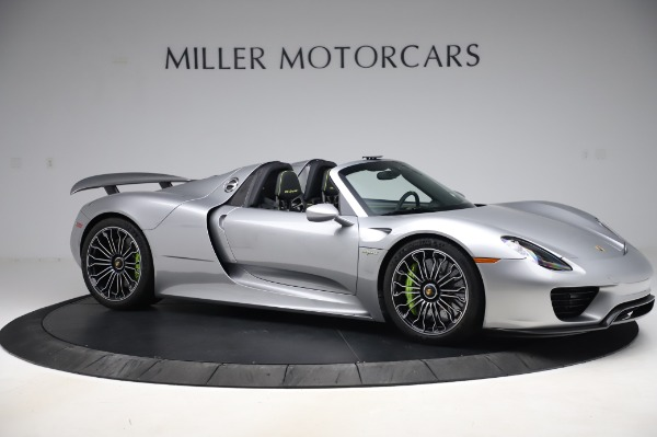 Used 2015 Porsche 918 Spyder for sale $1,389,900 at Maserati of Greenwich in Greenwich CT 06830 11