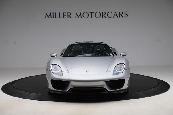 Used 2015 Porsche 918 Spyder for sale $1,389,900 at Maserati of Greenwich in Greenwich CT 06830 12