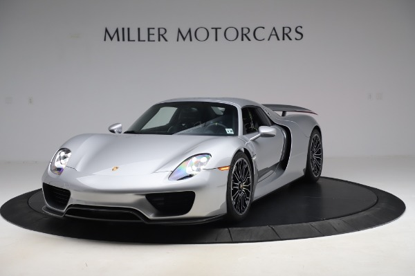 Used 2015 Porsche 918 Spyder for sale $1,389,900 at Maserati of Greenwich in Greenwich CT 06830 14