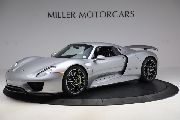 Used 2015 Porsche 918 Spyder for sale $1,389,900 at Maserati of Greenwich in Greenwich CT 06830 16