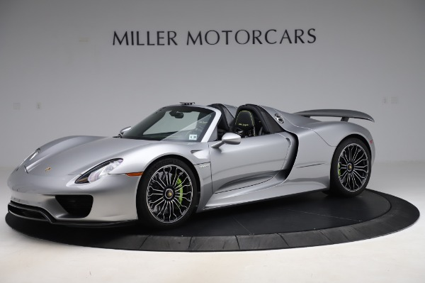 Used 2015 Porsche 918 Spyder for sale $1,389,900 at Maserati of Greenwich in Greenwich CT 06830 2