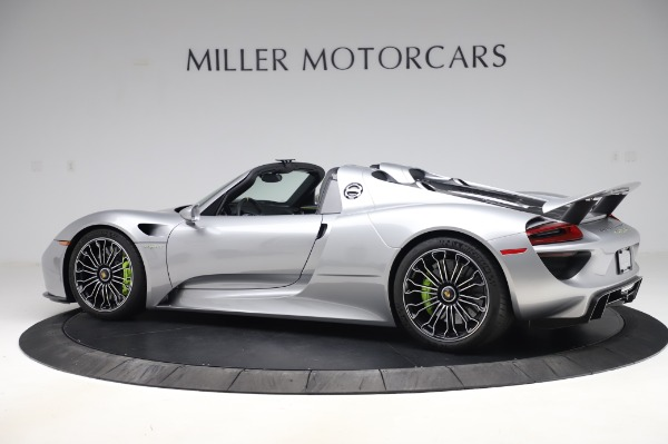 Used 2015 Porsche 918 Spyder for sale $1,389,900 at Maserati of Greenwich in Greenwich CT 06830 4