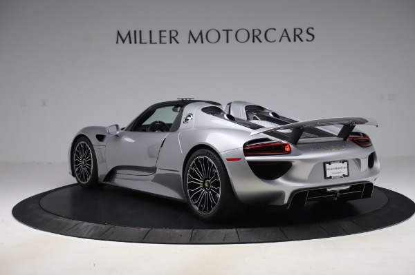 Used 2015 Porsche 918 Spyder for sale $1,389,900 at Maserati of Greenwich in Greenwich CT 06830 5