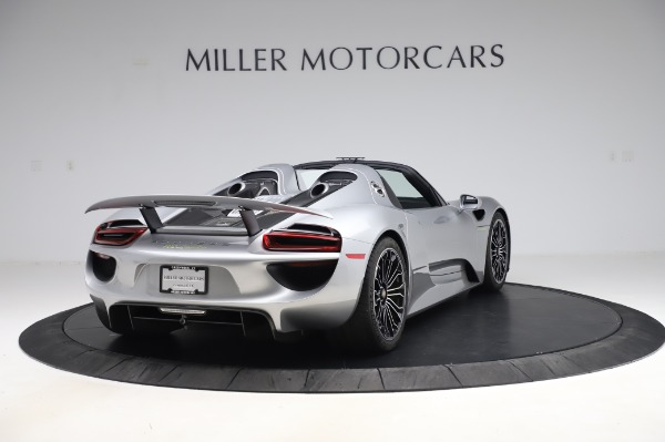 Used 2015 Porsche 918 Spyder for sale $1,389,900 at Maserati of Greenwich in Greenwich CT 06830 7
