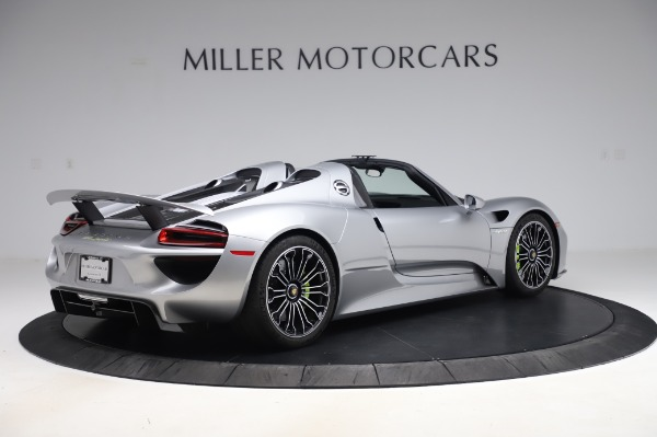Used 2015 Porsche 918 Spyder for sale $1,389,900 at Maserati of Greenwich in Greenwich CT 06830 8
