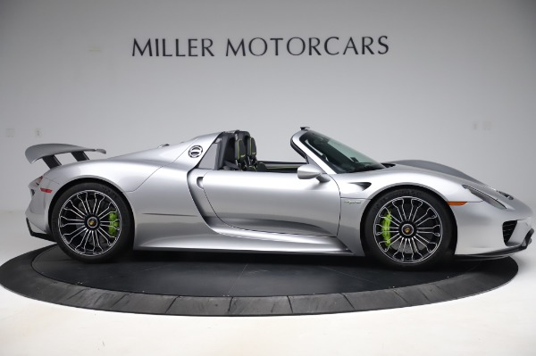 Used 2015 Porsche 918 Spyder for sale $1,389,900 at Maserati of Greenwich in Greenwich CT 06830 9