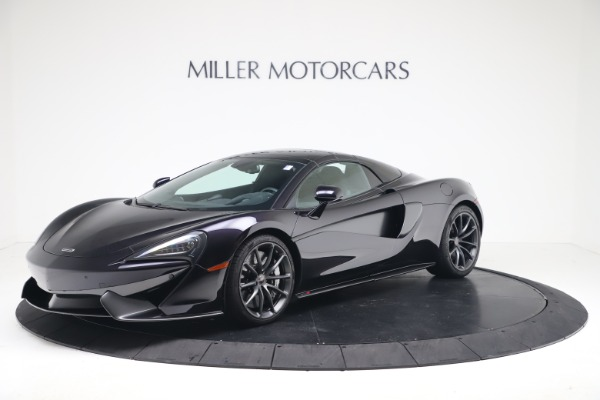 Used 2019 McLaren 570S Spider for sale Call for price at Maserati of Greenwich in Greenwich CT 06830 10