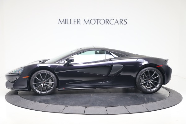 Used 2019 McLaren 570S Spider for sale Call for price at Maserati of Greenwich in Greenwich CT 06830 11