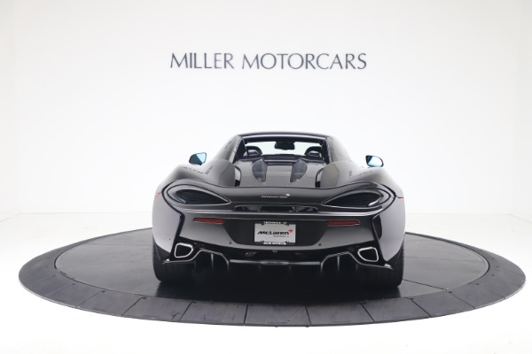 Used 2019 McLaren 570S Spider for sale Call for price at Maserati of Greenwich in Greenwich CT 06830 13