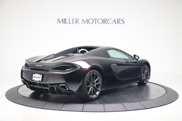 Used 2019 McLaren 570S Spider for sale Call for price at Maserati of Greenwich in Greenwich CT 06830 14
