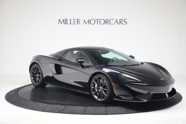 Used 2019 McLaren 570S Spider for sale Call for price at Maserati of Greenwich in Greenwich CT 06830 16