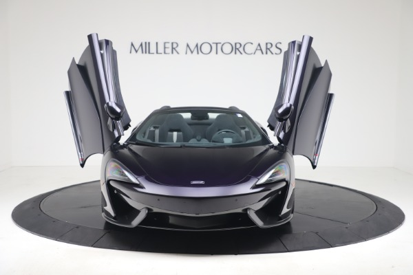 Used 2019 McLaren 570S Spider for sale Call for price at Maserati of Greenwich in Greenwich CT 06830 17